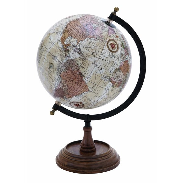 Rustic Globe by Three Posts