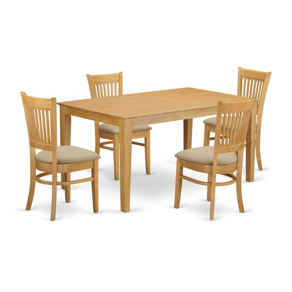 Smyrna 5 Piece Dining Set by Charlton Home Charlton Home