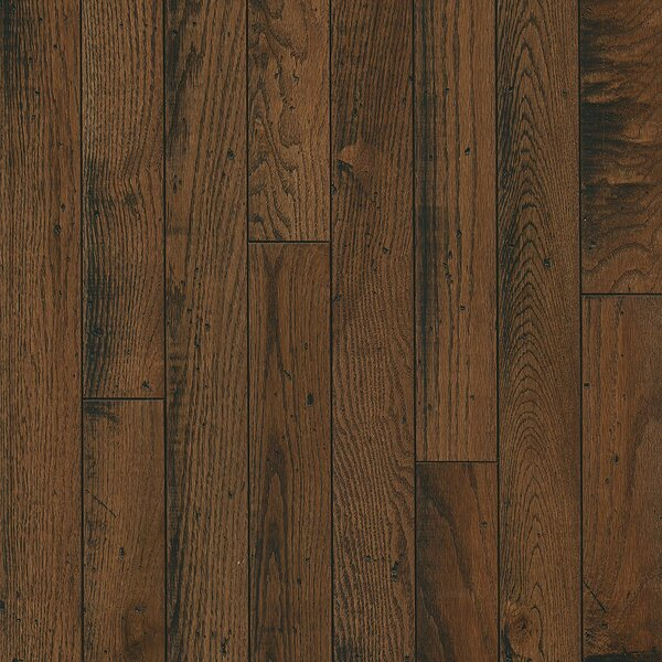 3-1/4 Solid Oak Hardwood Flooring in Idyllic Umber by Armstrong Flooring
