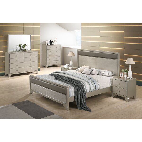 Yates Standard 6 Piece Bedroom Set by Rosdorf Park