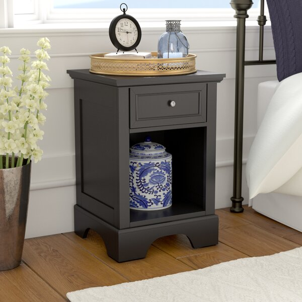 Thome 1 Drawer Nightstand by Charlton Home