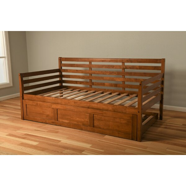 Franco Twin Daybed Frame with Trundle by Alcott Hill