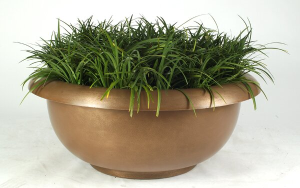 Galleria Plastic Pot Planter by Allied Molded Products
