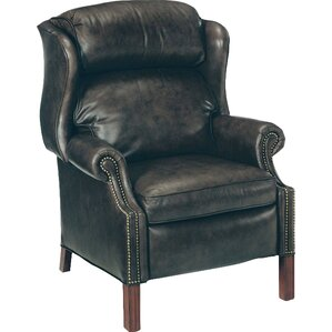 Chippendale Leather Power Recl..