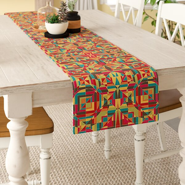 Allison Soupcoff Circus Table Runner by East Urban Home