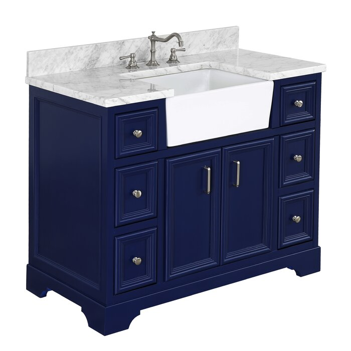 Wayfair Bathroom Vanity >> Zelda 42 Single Bathroom Vanity Set