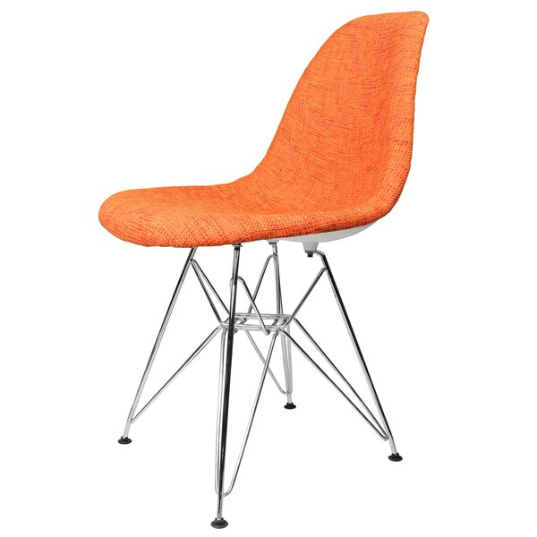 Mulloy Mid-Century Upholstered Dining Chair by Wrought Studio