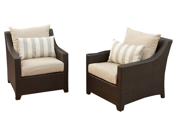 Northridge Chair with Cushions (Set of 2) by Three Posts