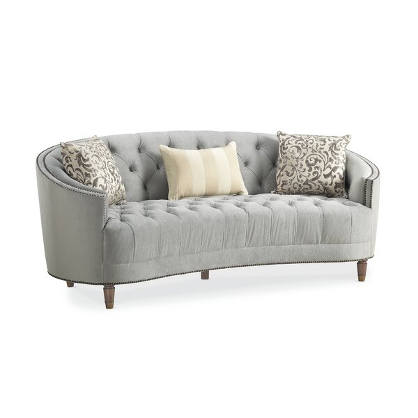 Frederic Tufted Curved Sofa by Darby Home Co