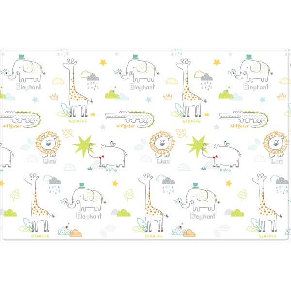 My Zoo and Rising Star Pure Soft Floor Mat by Parklon