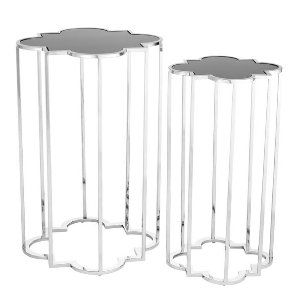 Concentric 2 Piece Nesting Tables by Eichholtz