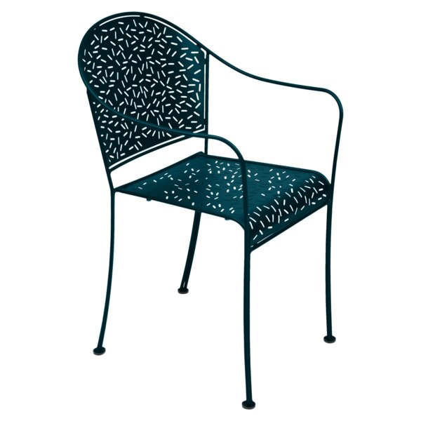 Rendezvous Stacking Patio Dining Chair (Set of 2) by Fermob