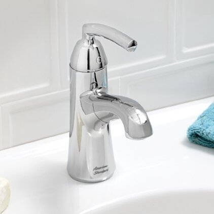 Tropic Single hole Bathroom Faucet with Drain Assembly by American Standard
