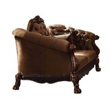 Welliver Velvet 73.2282 Rolled Arm Loveseat by Astoria Grand