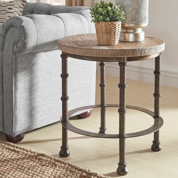 Mccarver Industrial End Table By Williston Forge