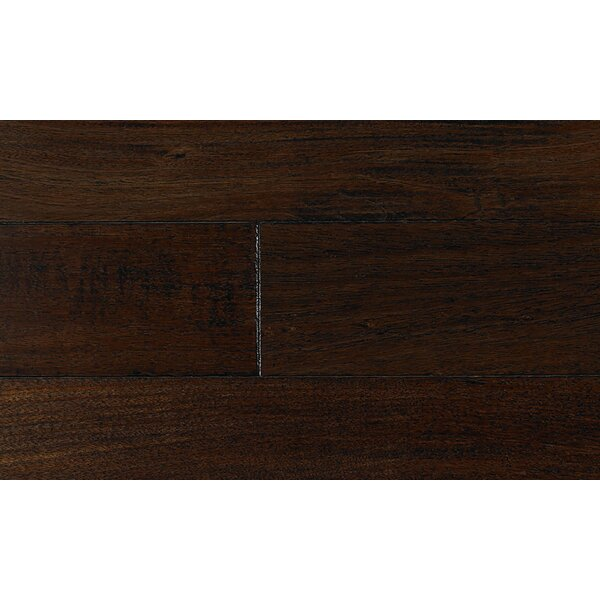 5 Engineered Brazilian Cherry Hardwood Flooring in Black by IndusParquet