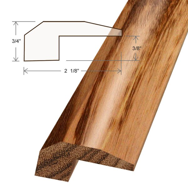 0.5 x 2.125 x 78 Tigerwood Threshold by Moldings Online
