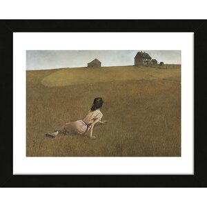 'Christina's World' by Andrew Wyeth Framed Painting Print by McGaw Graphics