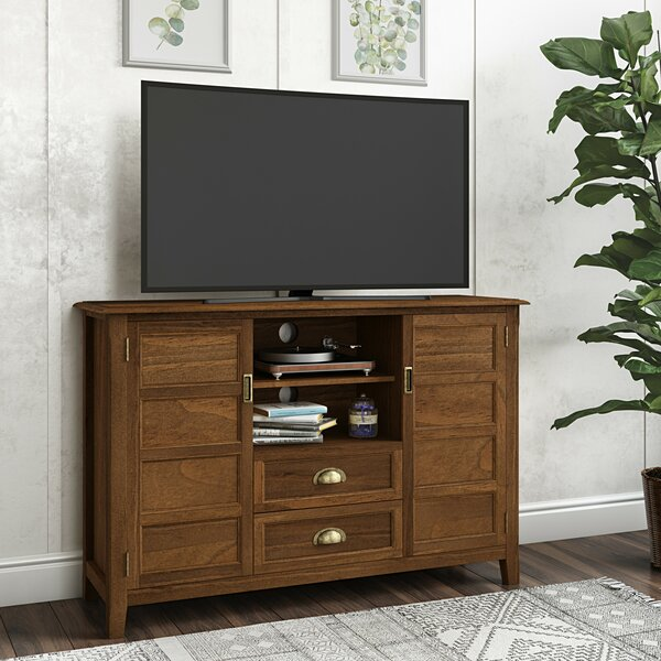 Review Mclaren Solid Wood TV Stand For TVs Up To 60