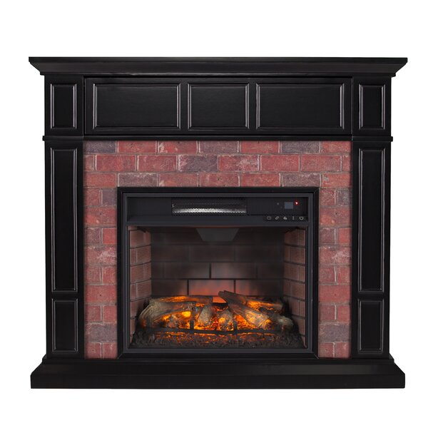Monrovia Electric Fireplace by Alcott Hill