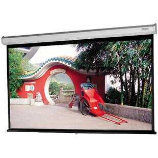 Model C with CSR Matte White 137 Diagonal Manual Projection Screen