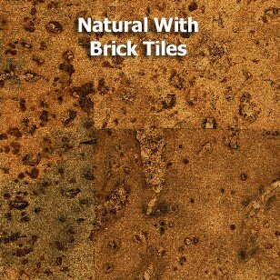 11-7/8 Cork Flooring in Natural Glossy Natural by Albero Valley