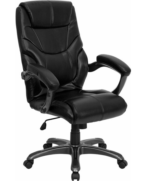 Kropp High-Back Overstuffed Ergonomic Executive Chair by Symple Stuff