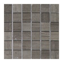 Milano 2 x 2 Marble Mosaic Tile in Gray by Seven Seas
