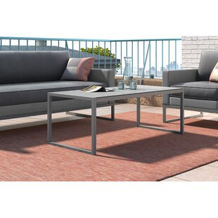 Tropez Metal Coffee Table By Elle Decor