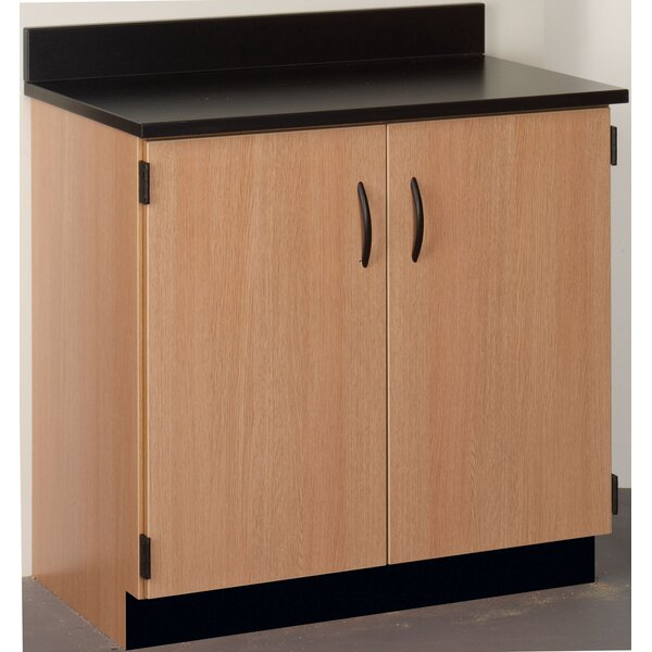 Science 2 Compartment Classroom Cabinet with Doors