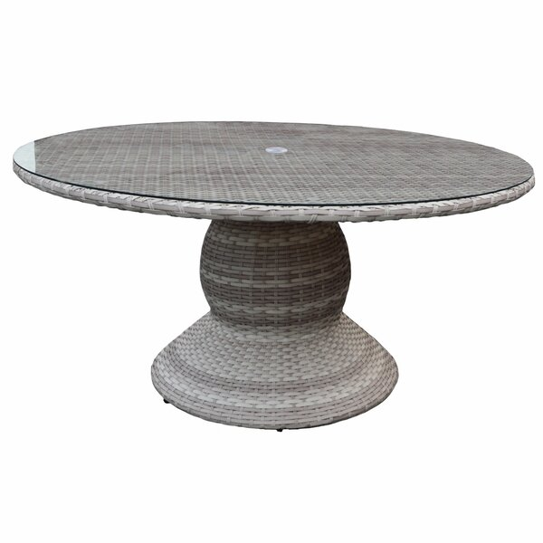 Ansonia Round Dining Table by Rosecliff Heights