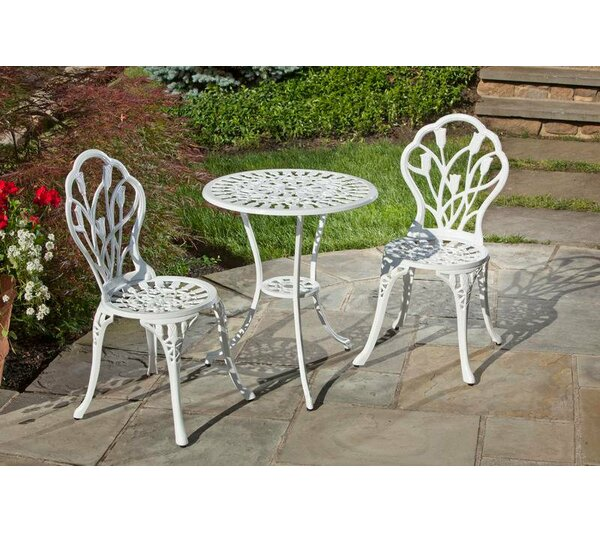 Tulipano Bistro Set by Alfresco Home