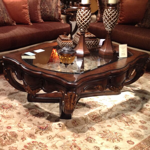 Clearbrook Coffee Table by Fleur De Lis Living Fleur De Lis Living