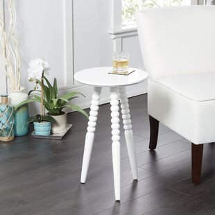 Breslin Round Accent Table with Turned Legs