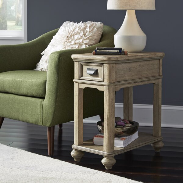 Nolanville End Table by Gracie Oaks