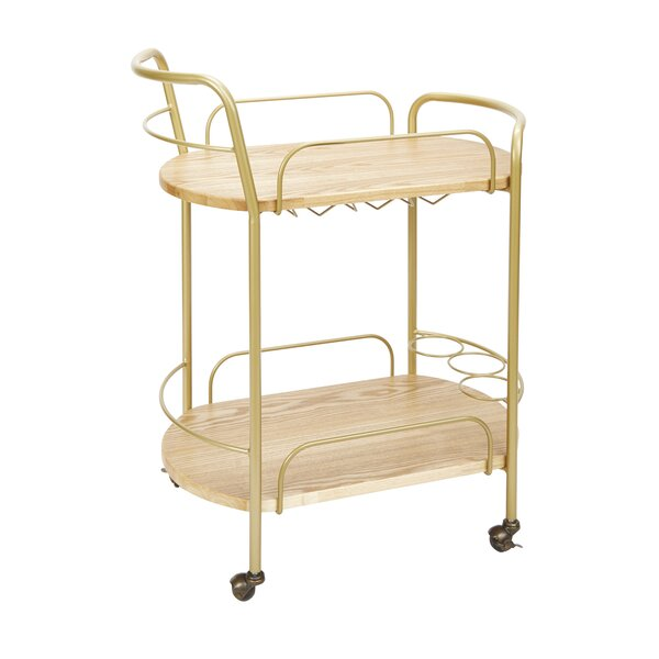 Riles Bar Cart by Brayden Studio