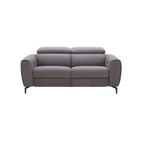 Stay Up To Date With The Newest Trends In Nakale Leather Reclining Loveseat by Orren Ellis by Orren Ellis