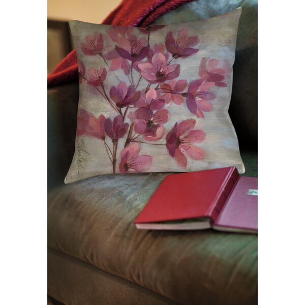 Perrin II Printed Throw Pillow by Andover Mills