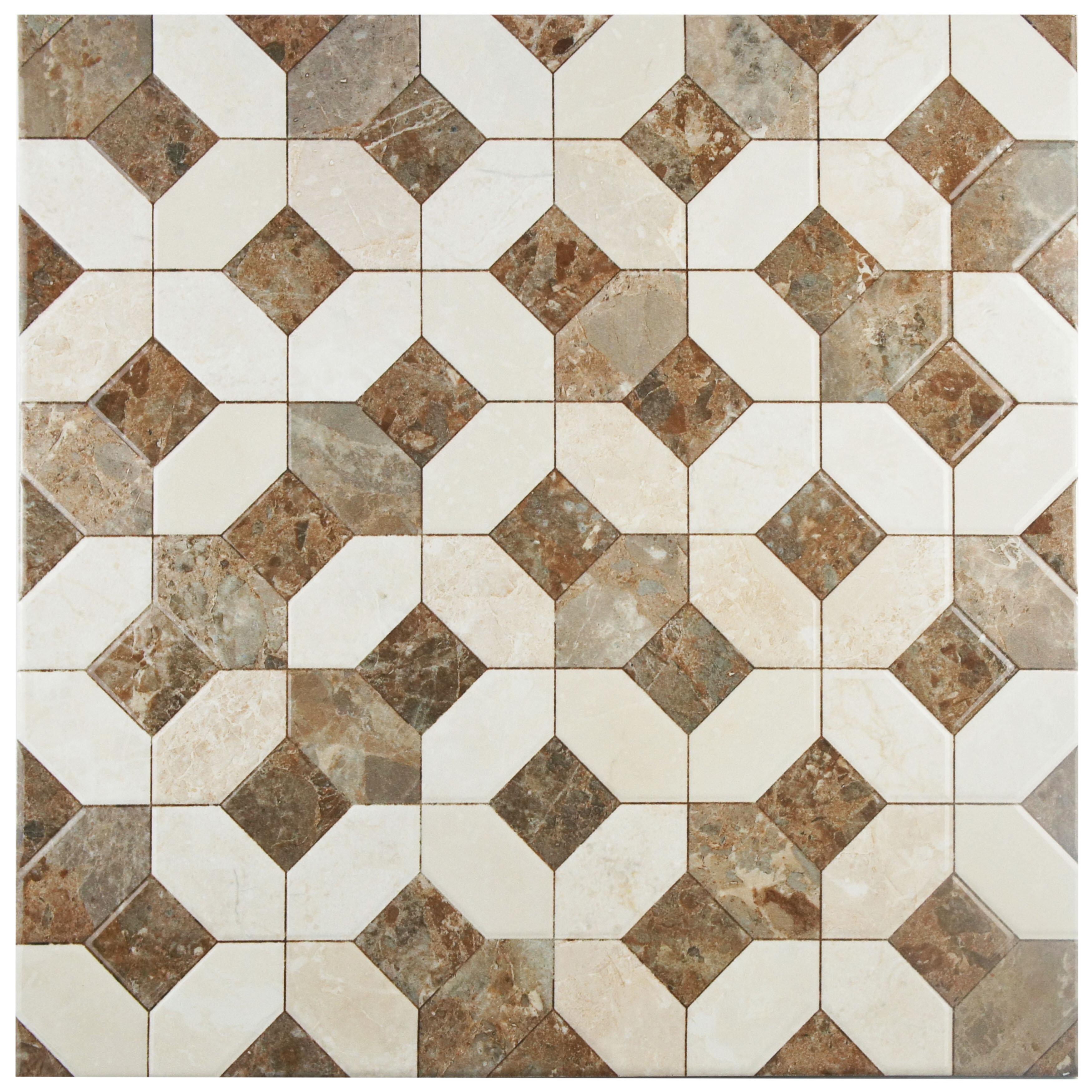 Elitetile Caprichos 1775 X 1775 Ceramic Tile In Marmol Beige