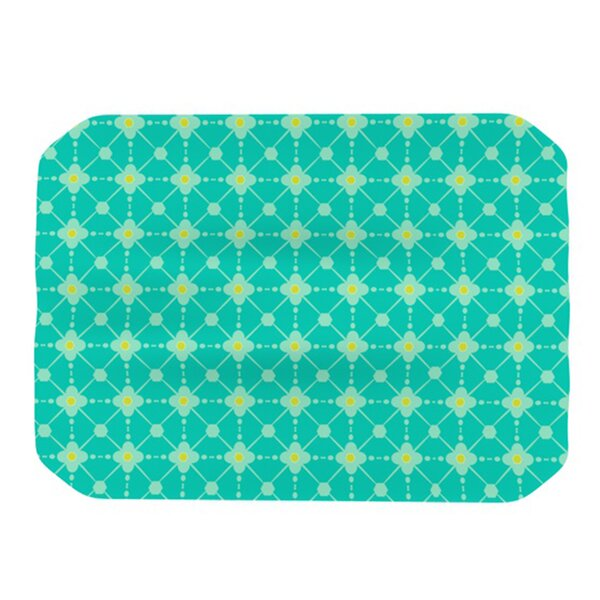Hive Blooms Placemat by KESS InHouse