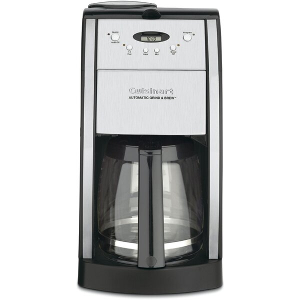 Grind & Brew 12 Cup Automatic Coffee Maker by Cuis