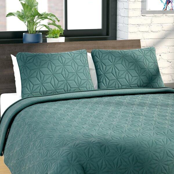 Cash 3 Piece Quilt Set by Zipcode Design