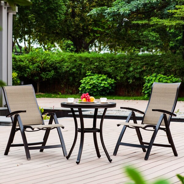 Starkey 3 Piece Seating Group by Canora Grey
