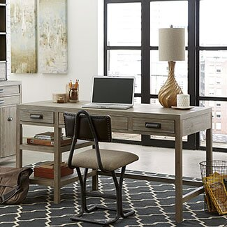 Upson 4-Piece Office Set with Hutch