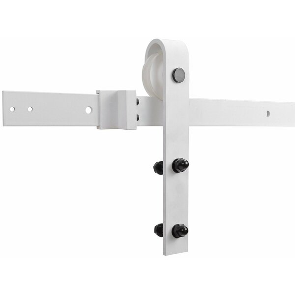 Classic Bent Strap Sliding Barn Door Hardware by TMS