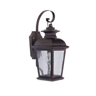 Best Reviews Staggs 1-Light Outdoor Wall Lantern By Red Barrel Studio