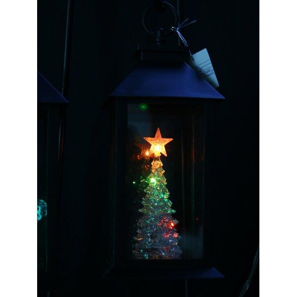 Christmas Tree Lantern Garden Stake by Alpine