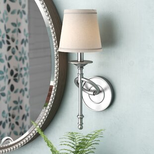 Reviews Hydetown 1-Light Wall Sconce By Three Posts