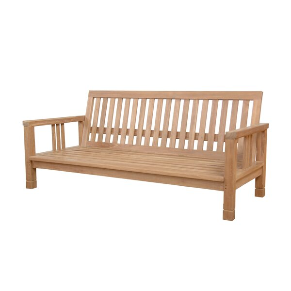 South Bay Teak Patio Sofa by Anderson Teak