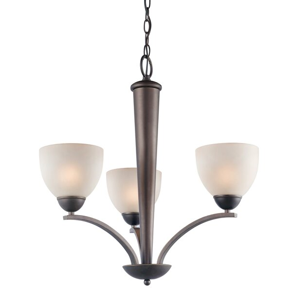 Gennadius 3 - Light Shaded Classic / Traditional Chandelier By Winston Porter